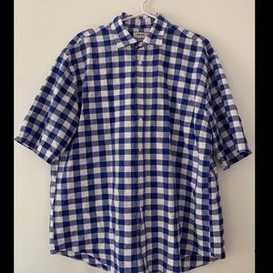 "Acne Studios short sleeve button up ""Alkany Soft"""